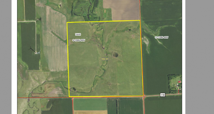 162.01 Acres For Sale Verdi Twp Lincoln County MN