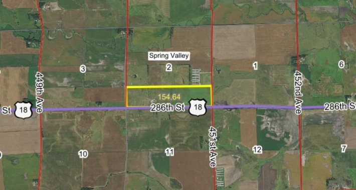 FOR SALE 154.64 Acres Turner County SD