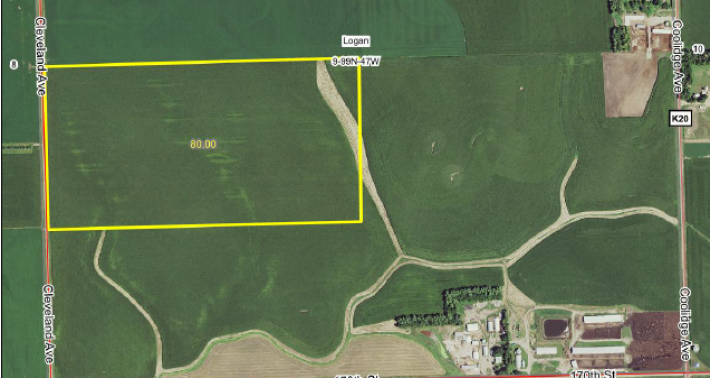 80 Acres For Sale Lyon County IA