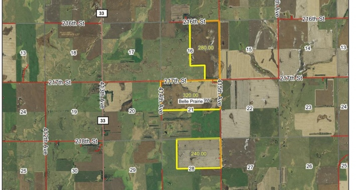 FOR SALE 840 ACRES LOCATED IN SE BEADLE COUNTY SD